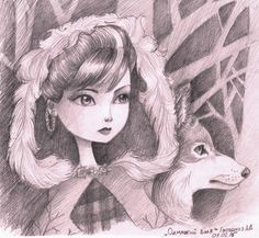 Lone Wolf by Rimmes-Broose.deviantart.com on @DeviantArt