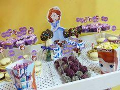 Candy Bar Princesa Sofía - Sofia the first