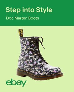 Wanted: a classic black boot with major attitude. Doc Marten boots are a fashion staple in their own league. No matter the outfit, they can stand up to any style combo – from patterns to monochrome. Lace up!