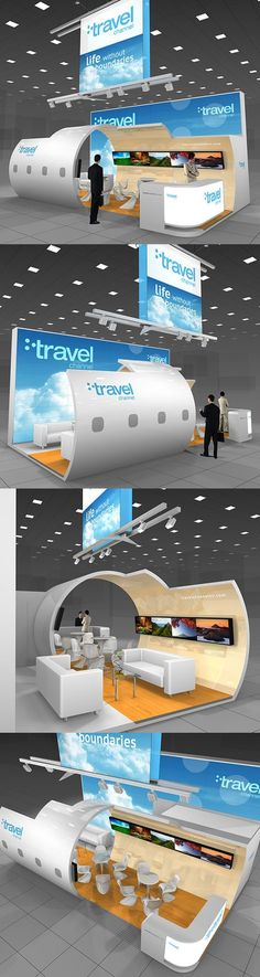 Travel channel exhibition stand on Behance
