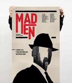 mad men minimalist poster - Google Search