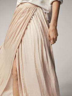 Spring Summer 2017 Women´s FLOWING SARONG SKIRT at Massimo Dutti for 12990. Effortless elegance!