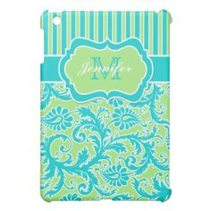 Blue, Green, White Striped Damask  iPad Mini Covers Yes I can say you are on right site we just collected best shopping store that haveReview          Blue, Green, White Striped Damask  iPad Mini Covers Here a great deal...