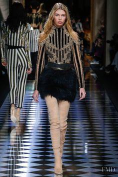 Photo - Balmain - Autumn/Winter 2016 Ready-to-Wear - paris - Fashion Show | Brands | The FMD #lovefmd