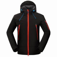 34.75$  Watch here  - 2017 New Winter Mammoth Outdoor Jacket Brand Hiking Jacket Softshell Jacket Men Windproof Waterproof Thermal Hiking Camping Ski