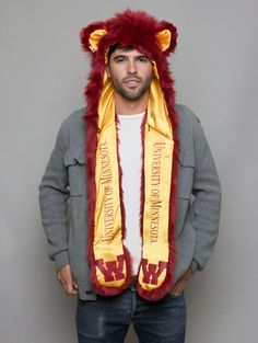 Team SpiritHoods: Are You A Fanimal? UNIVERSITY OF MINNESOTA  Curious > Community > Teacher    People with the gopher Spirit are caretakers of family and friends, often working in harmony with each other to protect their own. $89 www.spirithoods.c...