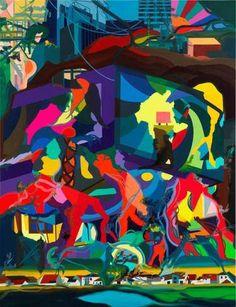 (Deutsch) Franz Ackermann – Painting Forever - Berlinische Galerie, Berlin