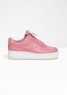 new style b0533 f1f8b Other Stories image 1 of Nike Air Force 1 Upstep in Pink Air Force 1