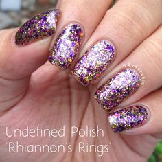 "Undefined Polish ""Rhiannon's Rings"" Handmade Indie Nail Polish (Photo courtesy of Chorubim on Instagram)"