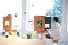 Koloro Exhibition / Torafu Architects