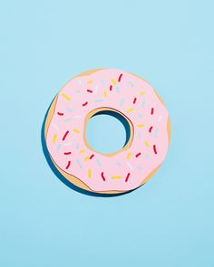 Who likes donuts? - paper crafted animated gif on Behance