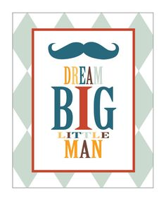 Baby Boy, Baby, Nursery Prints, Nursery Art, Baby Shower Gift, Wall Decor, Mustache