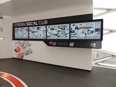 Citroen Social Club Interactive Experience