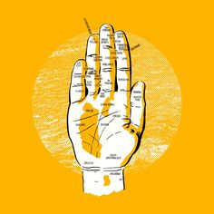 Your Hands are Actually Maps of SF/Bay Area - The Bold Italic - San Francisco / by Tim Delger