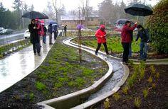 Penn State University Presents Stormwater Management as Artful Rainwater Design - Land8.com