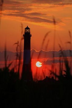 Sunset ~ Lighthouse