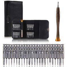 25 en 1 Torx Tournevis Set Téléphone Portable Réparation Outil Kit Outil multi-outils à main F