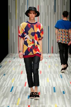 Factotum Spring/Summer 2015 - Mercedes-Benz Fashion Week Tokyo