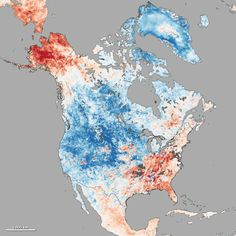 Embedded image permalink / NASA Climate Observatory (Alaska in a heat wave with the majority of the continent is freezing and snowy)