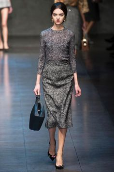<3 Dolce & Gabbana Fall 2013 RTW Collection - Fashion on TheCut
