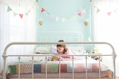 quiet bedroom time : kid's room, bright and colorful : home photo session, lifestyle, documentary inspired