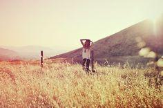 summer = when I can run thru fields of grass again