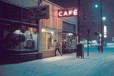 """Davie Street, 1975"" by Greg Girard"