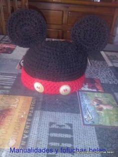 Gorro bebe Mickey