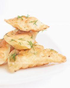 Pierogi z kaszą gryczaną i serem
