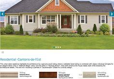 Maibec Seafront Beige - Molding Southhampton South Hampton, Cedar Shingles, Windows, Beige, Mansions, House Styles, Home Decor, Cedar Shake Shingles, Cedar Shakes