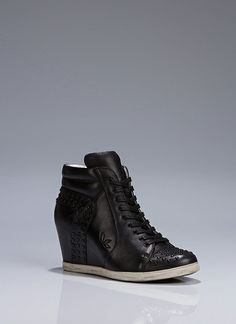 Sneaker Wedge With Stud Details