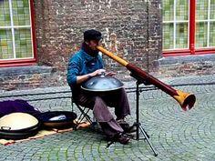 Hang Drum y Didgeridoo en Brujas (Campanario de las Hallen - Belfort) Didgeridoo, Great Music Videos, Instruments, Drum Music, All In One, Musicals, Australia, Youtube, Songs