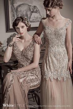 White STYLE | Vintage Wedding Dresses | Luxury Bridal Gown | 1920s | #Bridal #Bridalgown #1920s #vintage #Gastby #Wedding #Weddingdress #White #Fasion #Party #Style #Luxury
