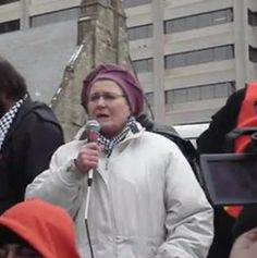 """m proud to join more than 250 Jewish Holocaust survivors and descendants of survivors in condemning """"the massacre of Palestinians in Gaza"""" and """"the ongoing genocide of the Palestinian people."""" Our..."""