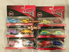 Disney Cars Diecast, Disney Pixar Cars, Disney Toys, Boy Car Room, Demolition Derby, Cars 1, Minecraft Party, Pokemon, Car Car