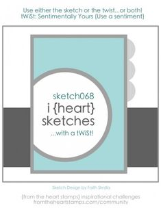 i {heart} card sketches #68