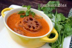 Ribbon's to Pasta's: Ras wara Bhea / Lotus Stem in Gravy
