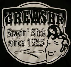 Greaser ad.