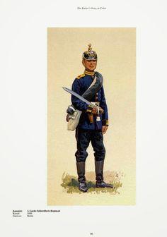 German; 3rd Guard Field Artillery Regiment, Gunner c.1900. Raised 1899, Home Depot; Berlin