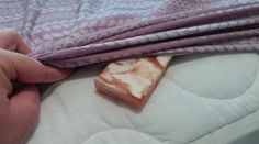 She Puts a Bar of Soap Under Her Sheet. The Reason Why is Genius!