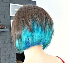 Two Years of Turquoise Dip Dyed Hair, Rainbow Hair FAQ, Plus My Short New Haircut (!)