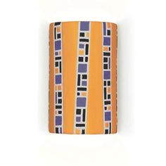 Mosaic wall sconce