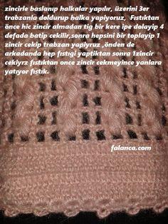 Crochet Stitches, Knitting, Pattern, Dots, Blouse, Knit Fashion, Tricot, Cast On Knitting, Patterns