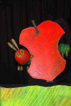 children's theater of nova scotia Couple Crafts, Very Hungry Caterpillar, Eric Carle, Visual Effects, Beautiful Butterflies, Puppets, Mermaid, Logo Design, Christmas Ornaments