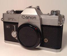 Canon FTb QL Camera by TroutsAntiques on Etsy, $114.95
