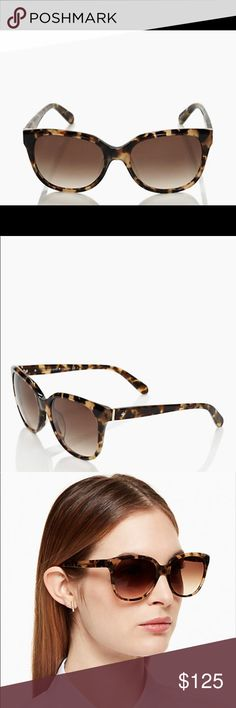 Kate Spade Sunglasses NWOT Kate Spade Bayleigh Sunglasses! NWOT. Great conditions and no scratches! Comes with Kate Spade glasses case and cleaning cloth!! Case has brown particles from the cleaning cloth not being in plastic, NOT dirty. kate spade Accessories Sunglasses