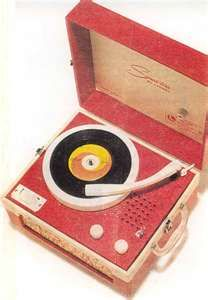 80s record player