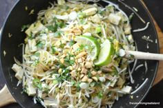 Spicy Pad Thai by theviewfromthegreatisland #Pad_Thai