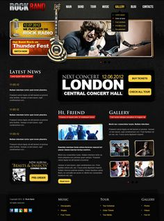 Rock Band - Joomla template: http://www.cbmcard.com/Rock-Band-v2.5-Joomla-template-300111478.html