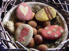 Primitive Easter eggs